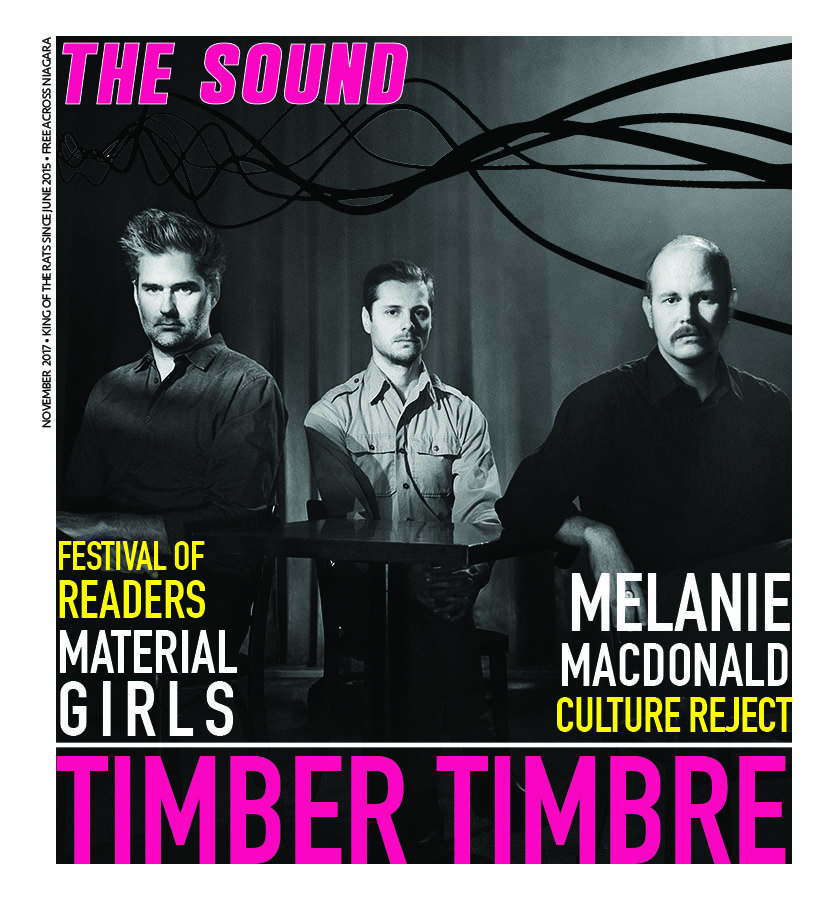 The Sound Mag Cover November 2017 Timber Timbre