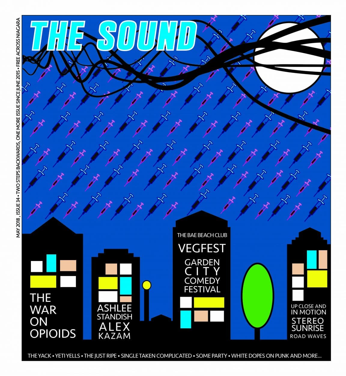 The Sound Mag Cover May 2018 The War on Opioids