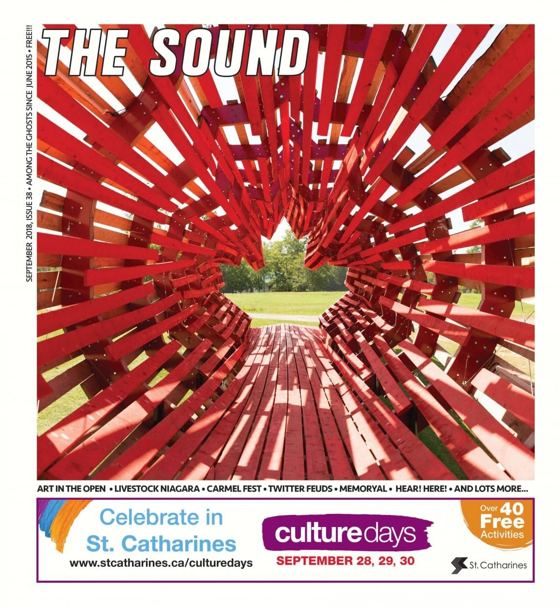 The Sound Mag Cover September 2018