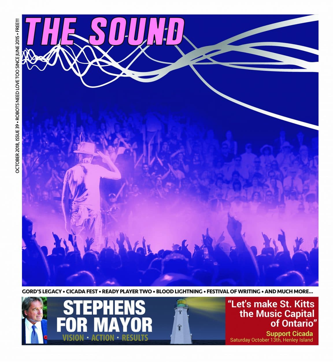 The Sound Mag Cover October 2018