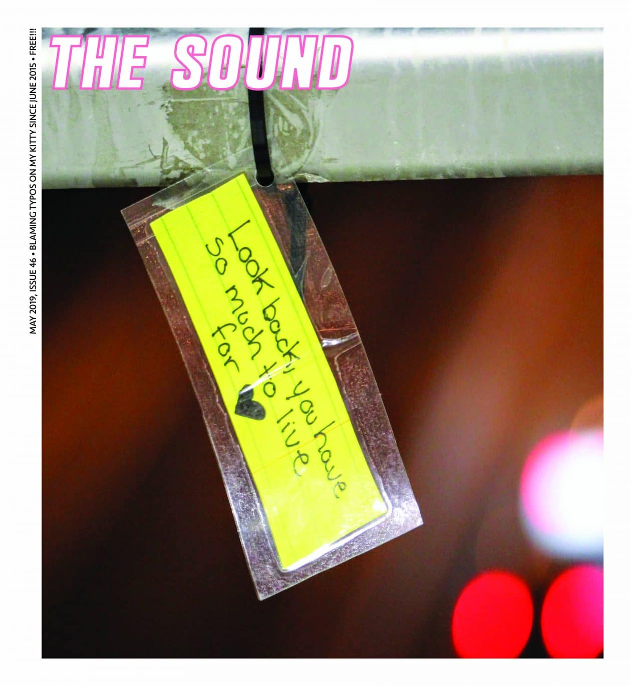 The Sound Mag Cover May 2019